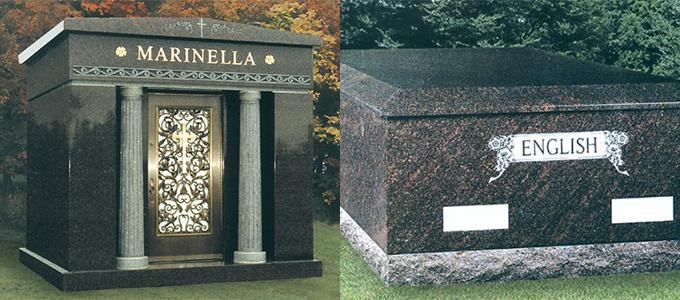 Milligan-Memorials-Mausoleums
